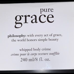 philosophy pure grace whipped body creme